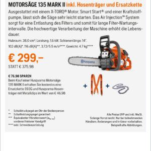Hq Anzeigen Frhjahrsaktion 2021 2sp Rz MotorsŽge 135 Mark Ii Kopie