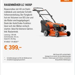 Hq Anzeigen Frhjahrsaktion 2021 2sp Rz RasenmŽher Lc 140sp Kopie