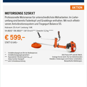 Hq Anzeigen Fr�hjahrsaktion 2021 2sp Rz Motorsense 525rxt Kopie