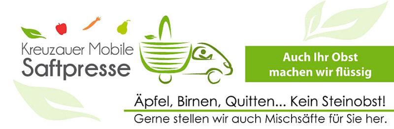 Brenner Kreuzauer Mobile Saftpresse
