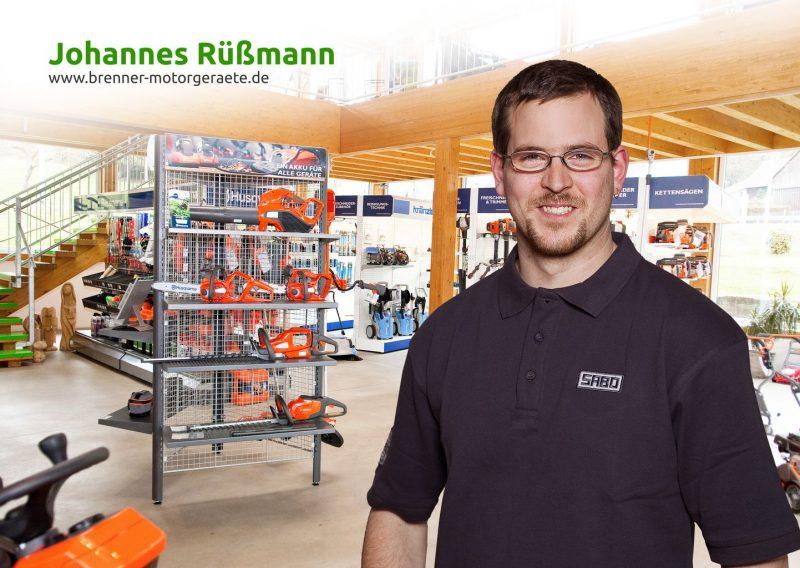 Johannes Rüßmann – Brenner Motorgeräte